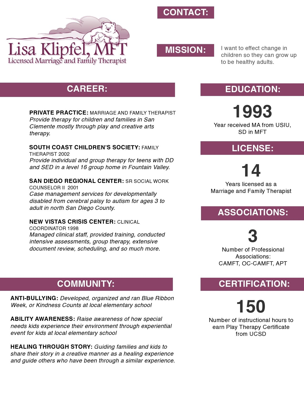 Resume Tips And Tricks My First Visual Resume March 2012 Very Interesting