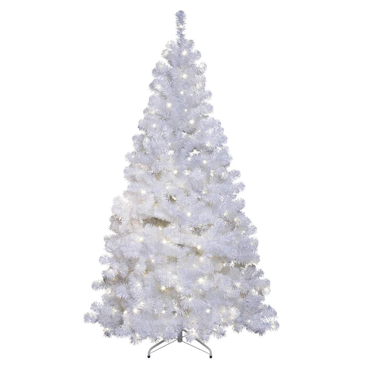 White Led Fir Tree Ottawa For Outdoor 2 1m 260led 260led Ottawa Outdoor White New In 2020 White Artificial Christmas Tree Led Christmas Tree Led Tree