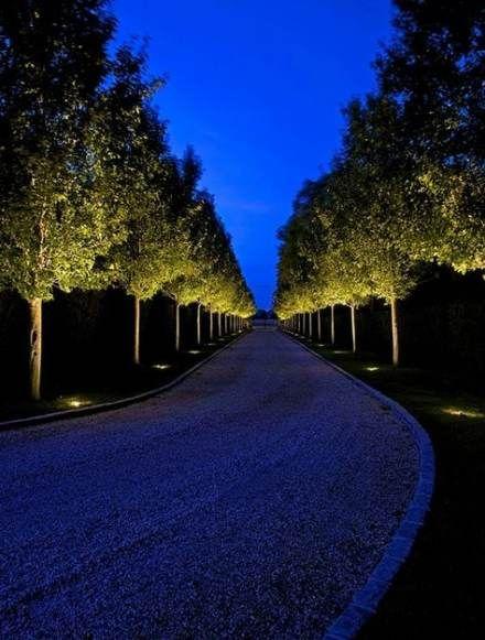 Landscaping driveway style 50 Ideas #landscapelightingdesign