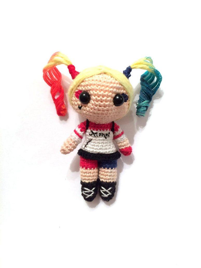 Harley Quinn - amigurumi by AlinaEremeek.deviantart.com on ...