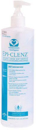 Medline Epi Clenz Instant Hand Sanitizer Hand Sanitizer Hand