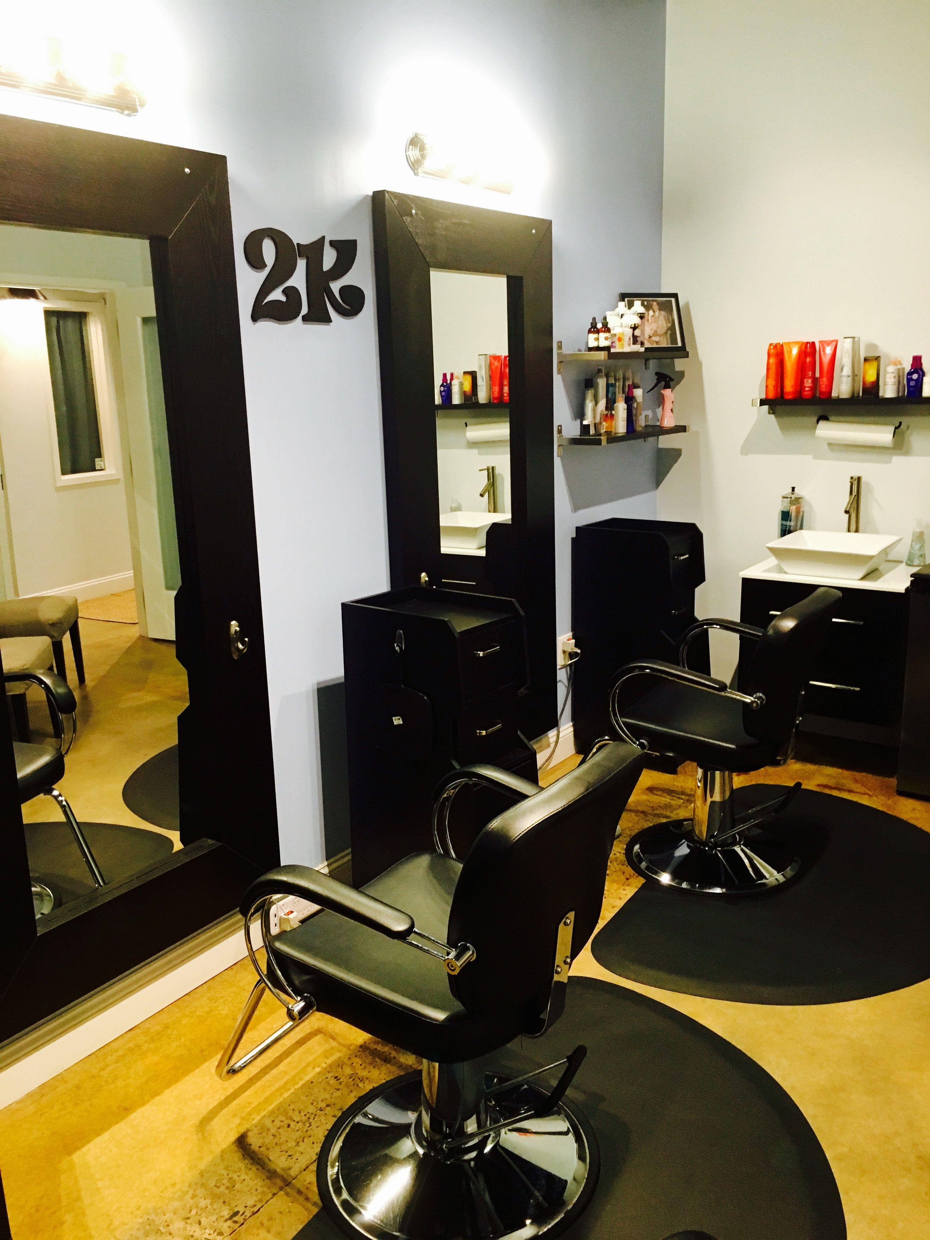 Suite 109 Studio 2k Colorspecialists Haircharlotte Funlovingstyle Decorate Brightcolors Inspiring Entrepreneurl Home Salon Salon Suite Home Beauty Salon