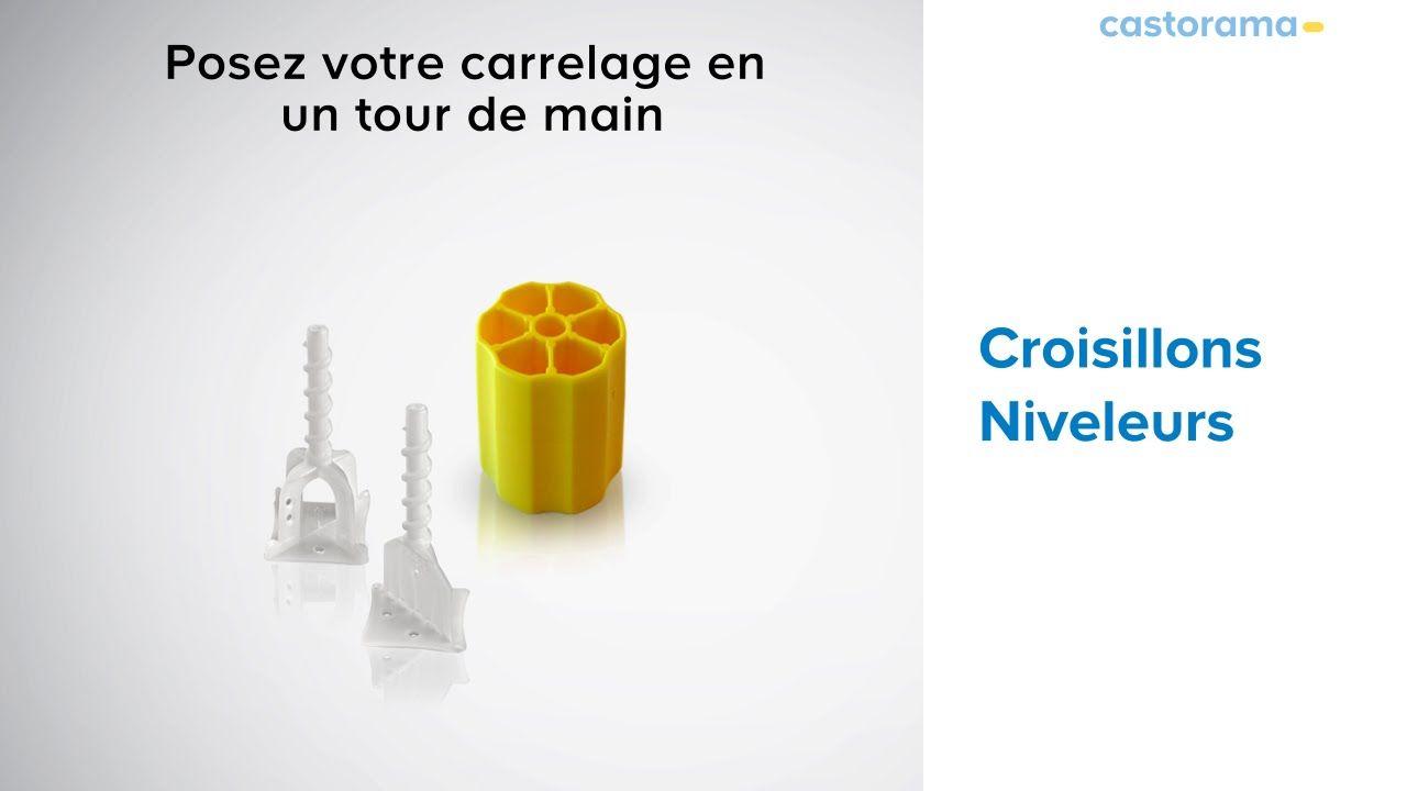 Avec Les Croisillons Niveleurs Et Leur Embouts De Vissage Mettre