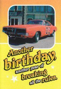 Sensational Dukes Of Hazzard Birthday Cake Amazon Com Greeting Card Personalised Birthday Cards Arneslily Jamesorg