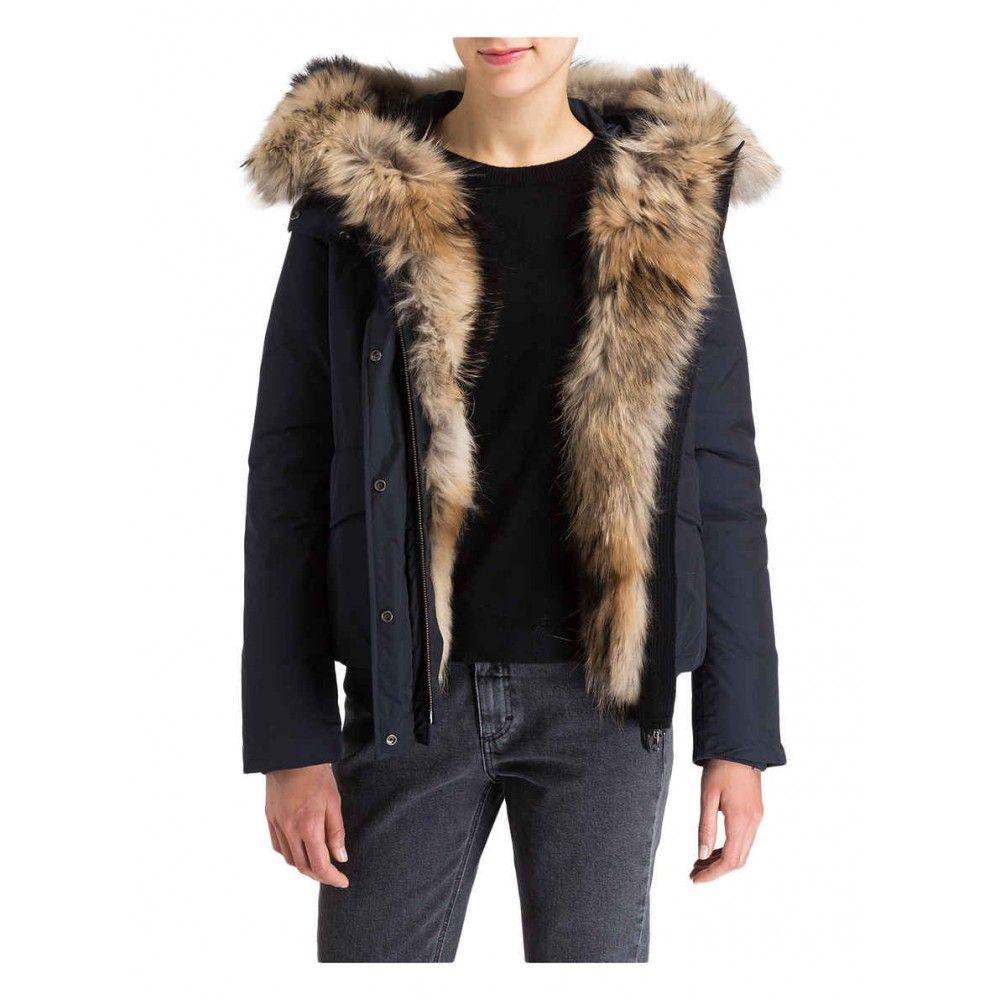 Woolrich mantel lang