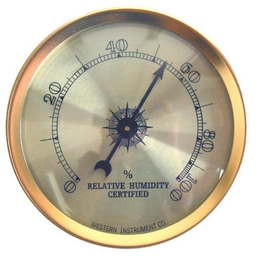 Analog Hygrometer By Western Humidor For Only 8 00 You Save 2 00 20 Hygrometer Humidors For Sale Weather Instruments