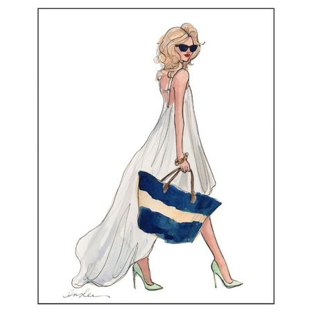 I pinned this Little White Dress Print from the Inslee by Design event at Joss and Main!