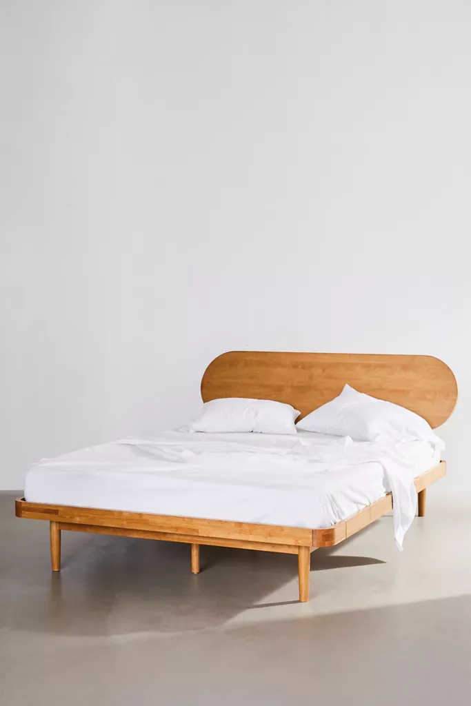 Camila Bed In 2020 Urban Outfitters Bedroom Furniture Minimalist Bed Frame