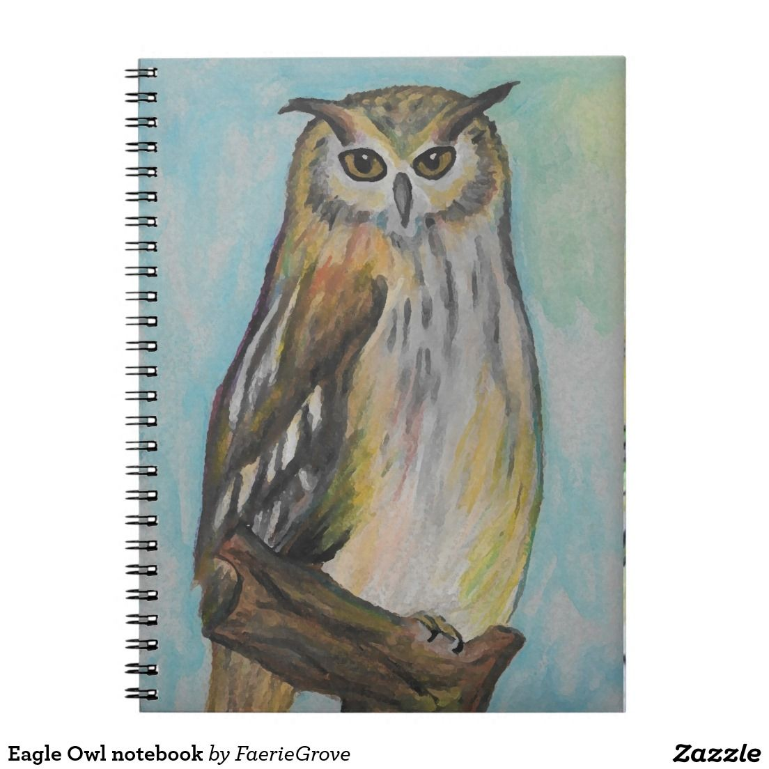 Eagle Owl notebook
