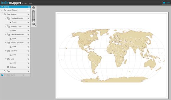 Indiemapper: Create professional maps from geographic data ...