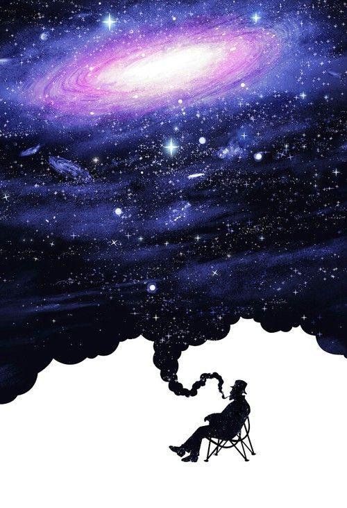 Imagem de galaxy, wallpaper, and background