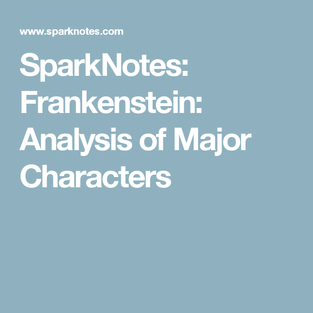 """introduction to frankenstein coursework Mary shelley created victor frankenstein in prometheus' image and subtitled  the thesis isn't an argument, but an her novel """"the modern."""