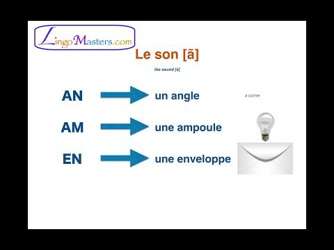Learn French: Pronunciation (part 2) - Nasal Vowels (Les
