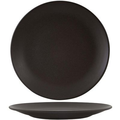 Charcoal Round Coupe Plate 310mm $13.80