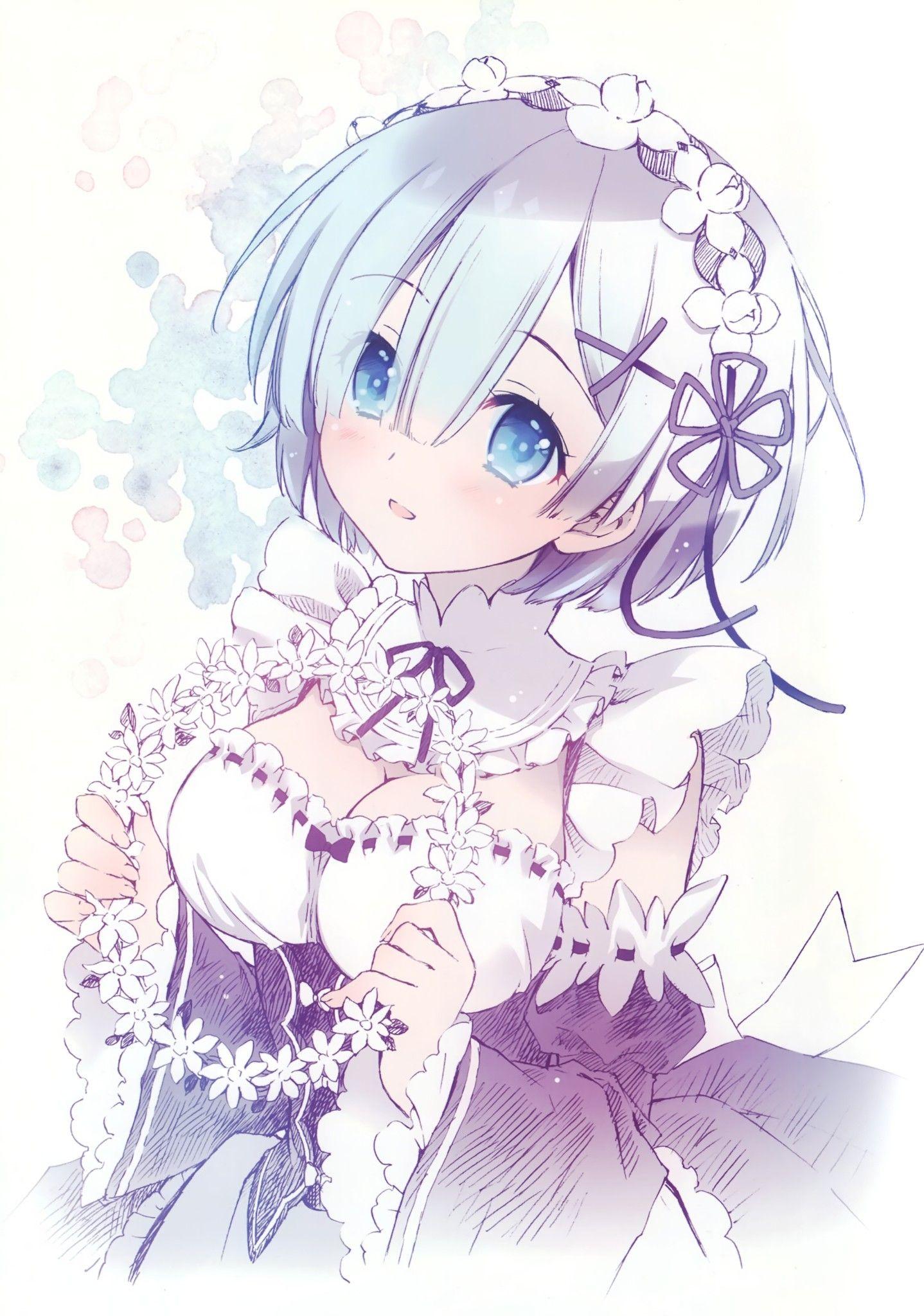 CHARACTERS rem (rezero) Anime, Vocaloid, Dễ thương