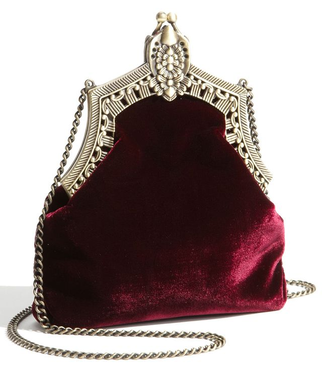81c714f3a83 House of Harlow 1960 Velvet Pouch- This is where I store fancy magic ...