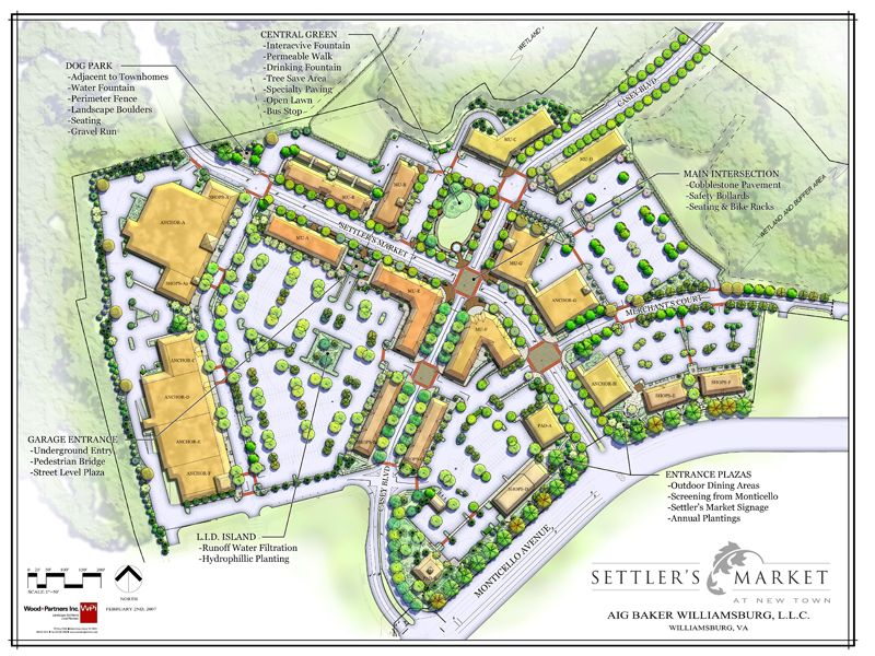 Settlers Market Town Center Master Plan Workplace