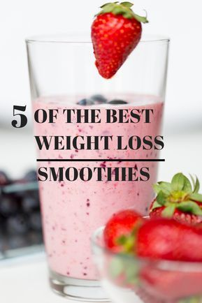 5 Of The Best Weight Loss Smoothies