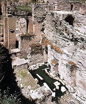 Pool of Bethesda Map Bethesda (See also wiki article