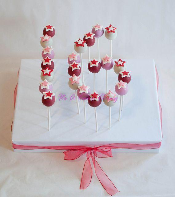 Fabulous Sweet  Cakes Sweet  Sweet  Cakes And  Cake - Cake pop birthday cake