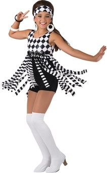 8722d673c SWINGIN' 60'S Girls Dance Costumes, Jazz Costumes, Ballet Costumes, Dance  Outfits,