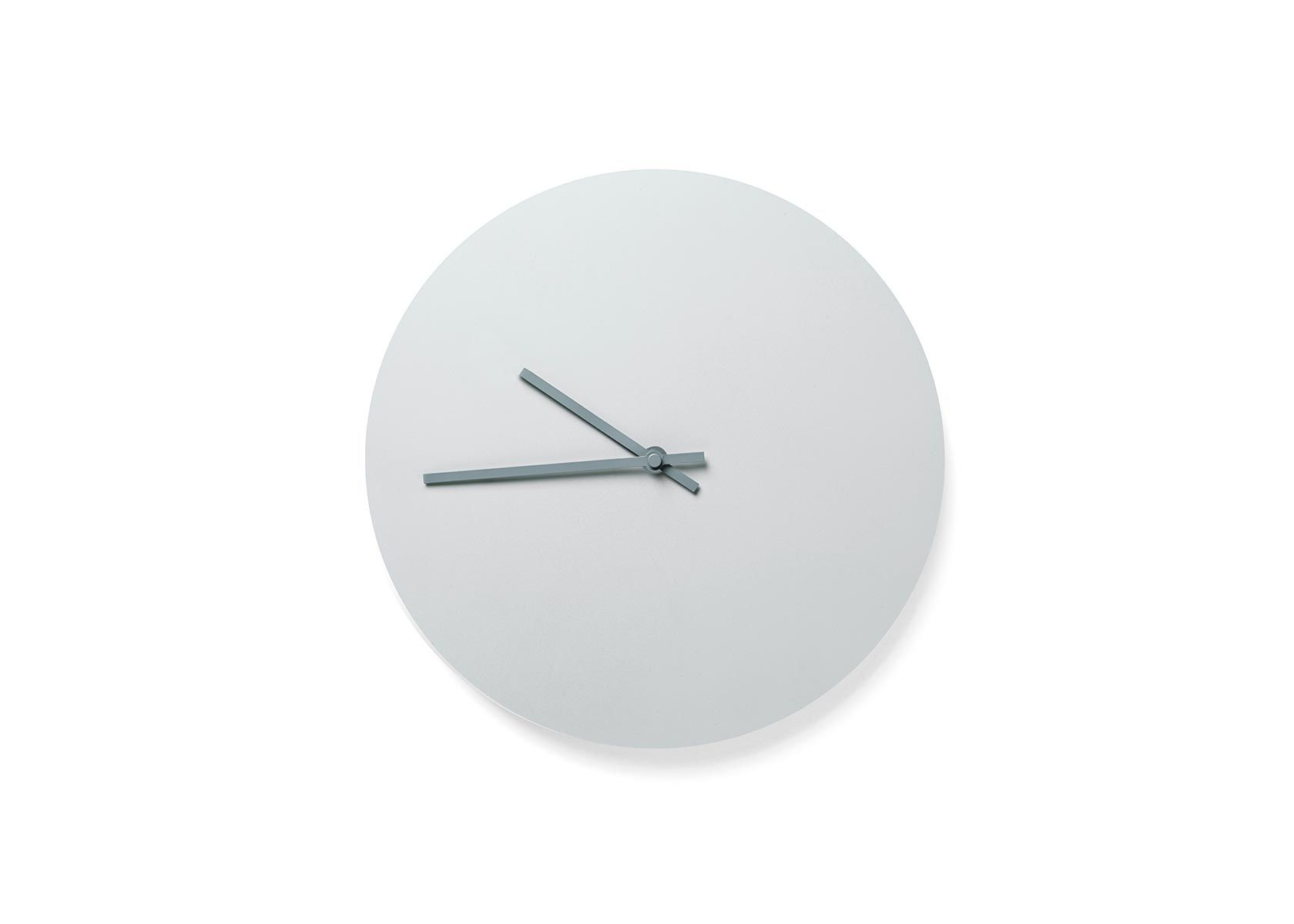 Steel wall clock by norm architects clocks workspace grey steel wall clock by norm architects clocks workspace amipublicfo Images