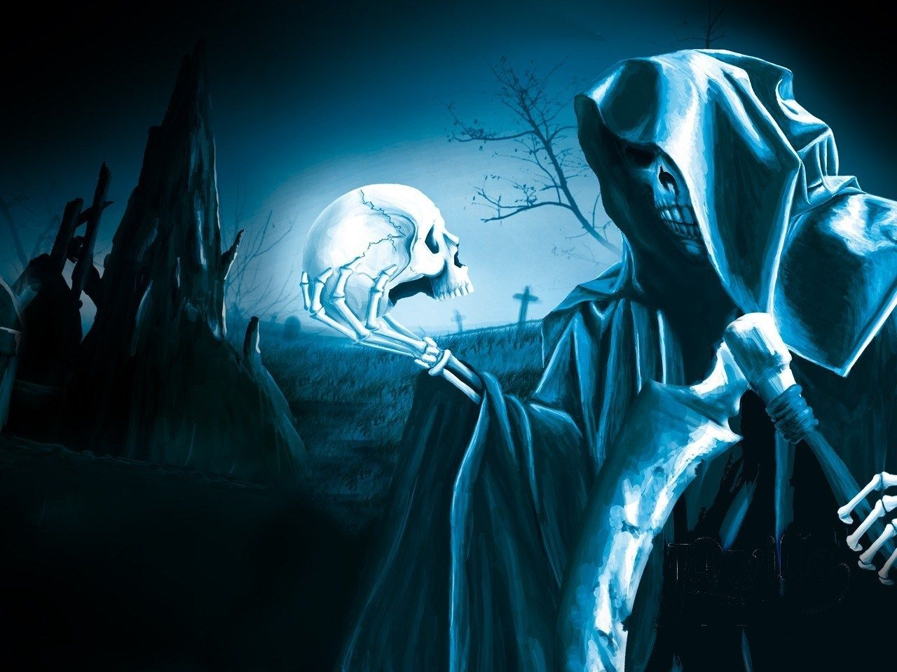 Grim Reaper Skull Dark Wallpaper 2021 Live Wallpaper Hd Don T Fear The Reaper Grim Reaper Skull Wallpaper