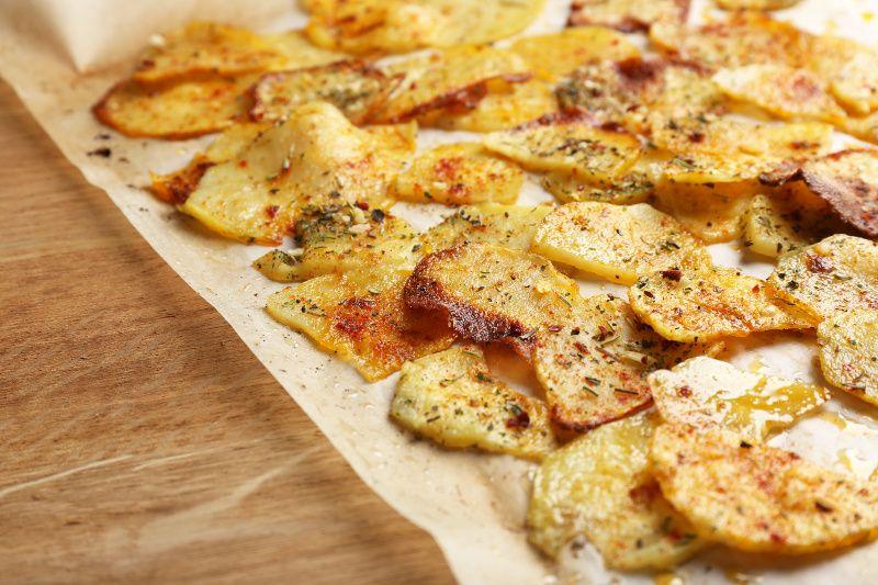 Chips maison recette recette collation bonbon plateau chips maison recette et chips - Chips fait maison au four ...