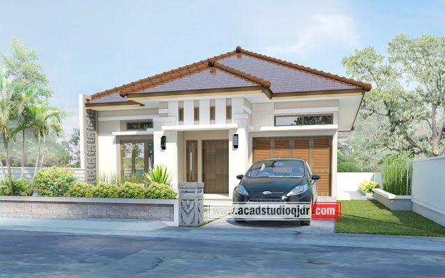 Desain Rumah Milik Bapak Solehan, Kab Cilacap modele de plan de