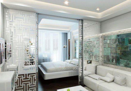 Как совместить спальню и гостиную: 7 идей, 20 примеров
