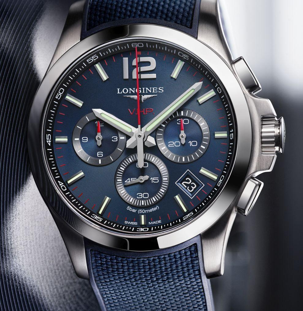 TimeZone   Industry News » N E W M o d e l - Longines Conquest V.H.P.  Chronograph 05c35d3c9d0