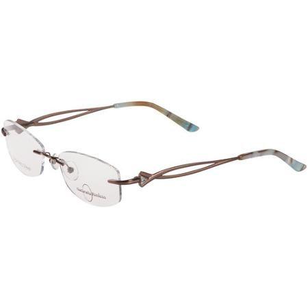 Naturally Rimless Women\'s Eyeglass Frames, Multi-Colored ...