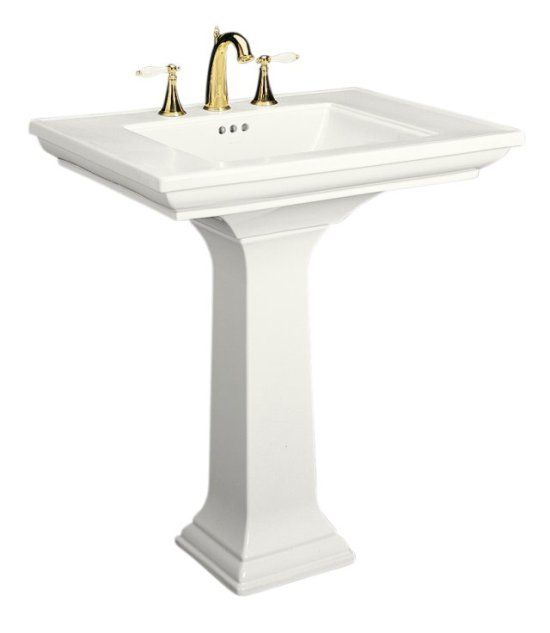 The Alternative To A Console Is The Classic Pedestal Sink Memoirs® Pedestal  Lavatory With 8