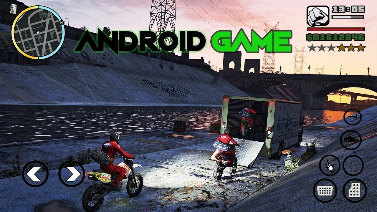 android games like gta san andreas