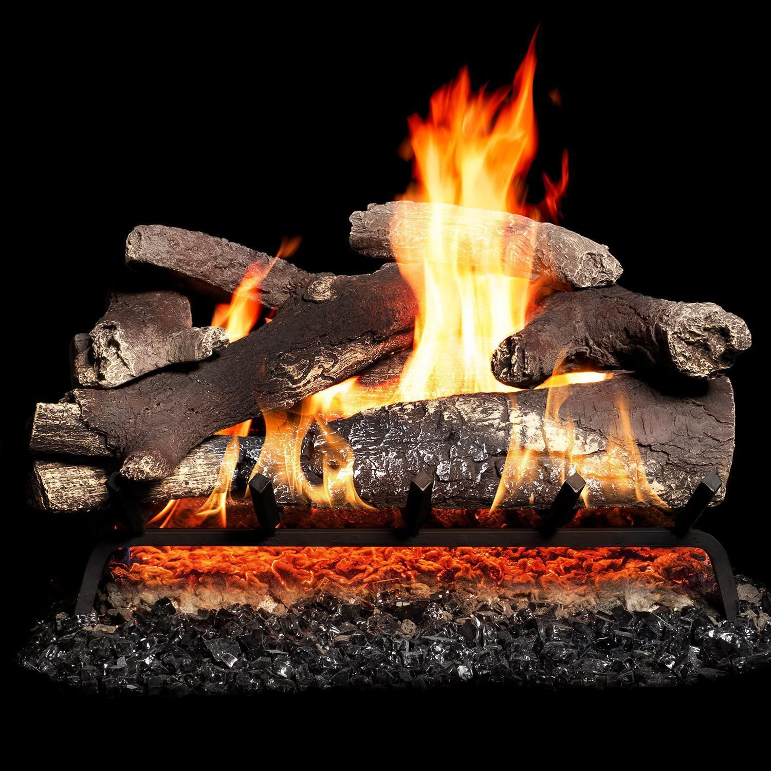 Nothing Creates A Warm Ambiance In Your Home Quite Like Wood Burning In The Fireplace Gaslogguys Combines The Look
