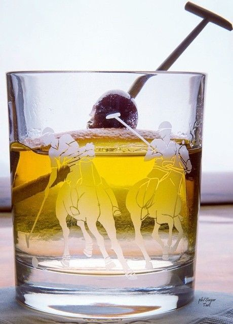 ~Polo Chic Double Old Fashioned Barware | House of Beccaria#