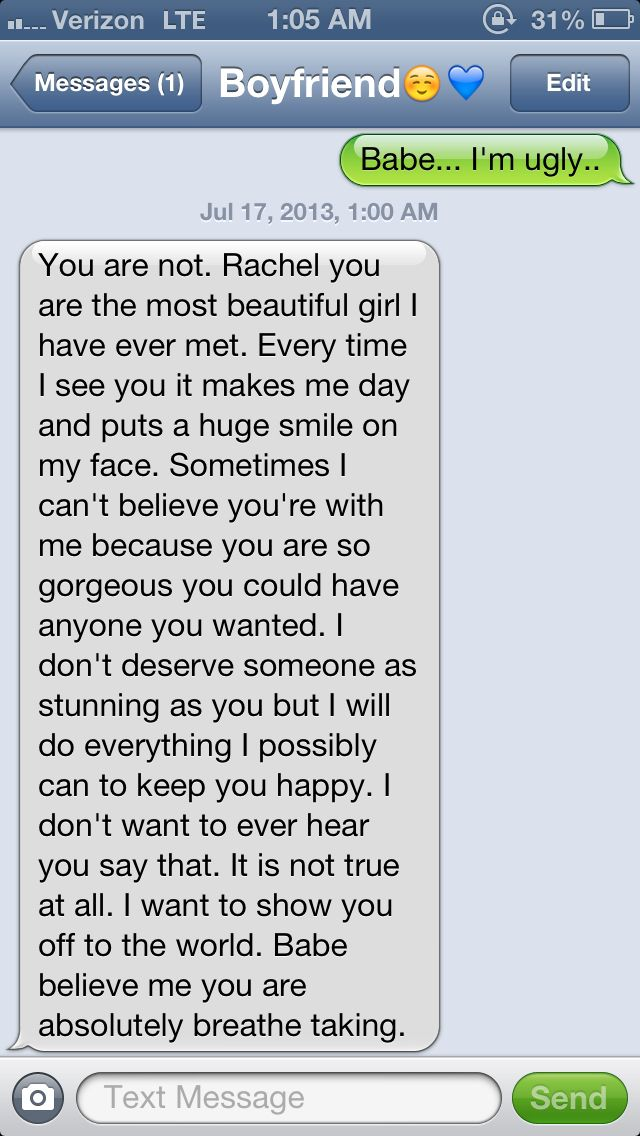 Cute Text Messages To Send To A Guy