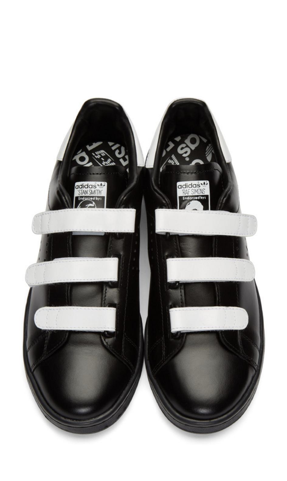 Raf Simons Black adidas Edition Stan Smith Comfort Sneakers