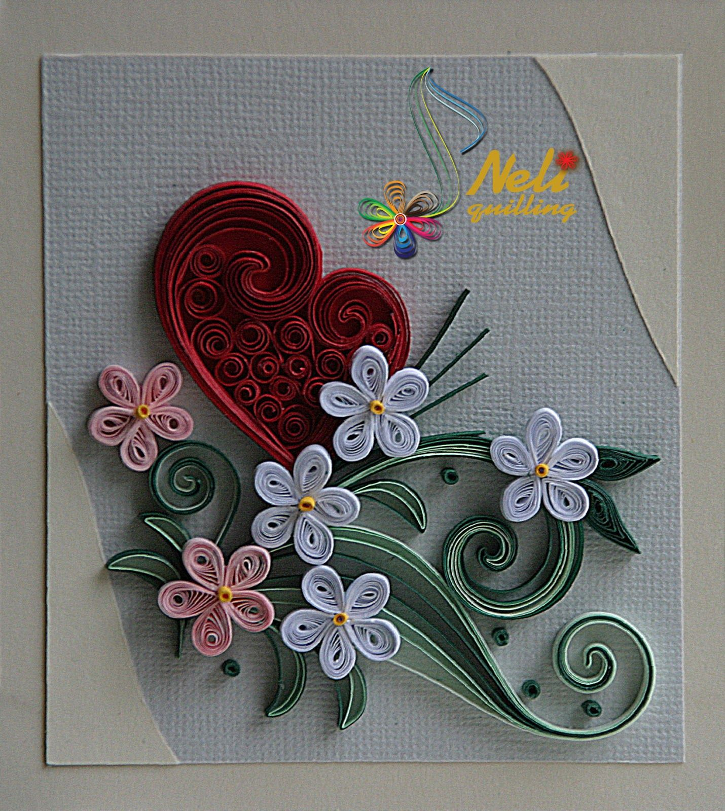Neli quilling cards quilling pinterest neli for Quilling designs how to make