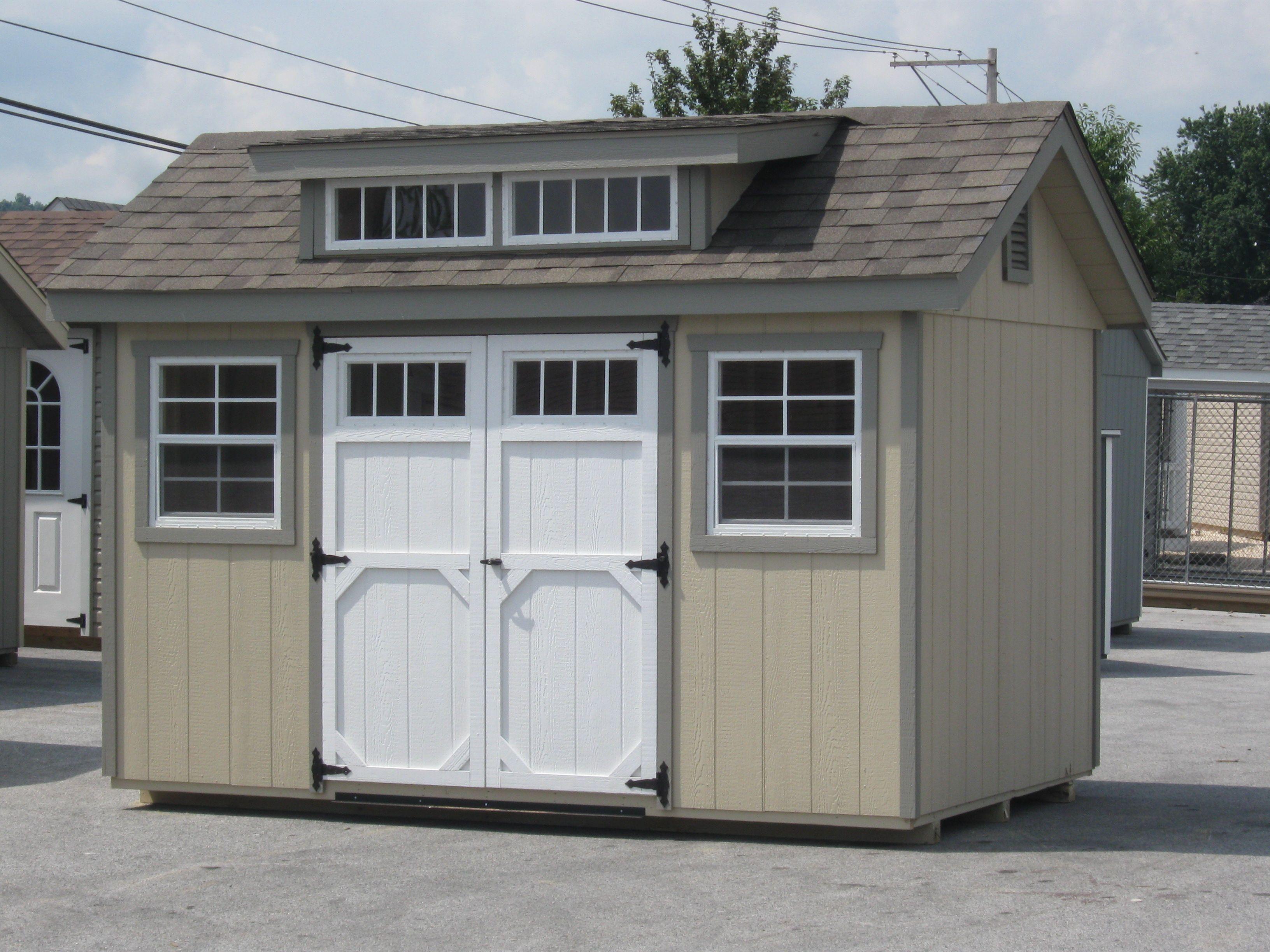 barn horizon garden sheds quaker storage structures garage garages shed site style amish built on
