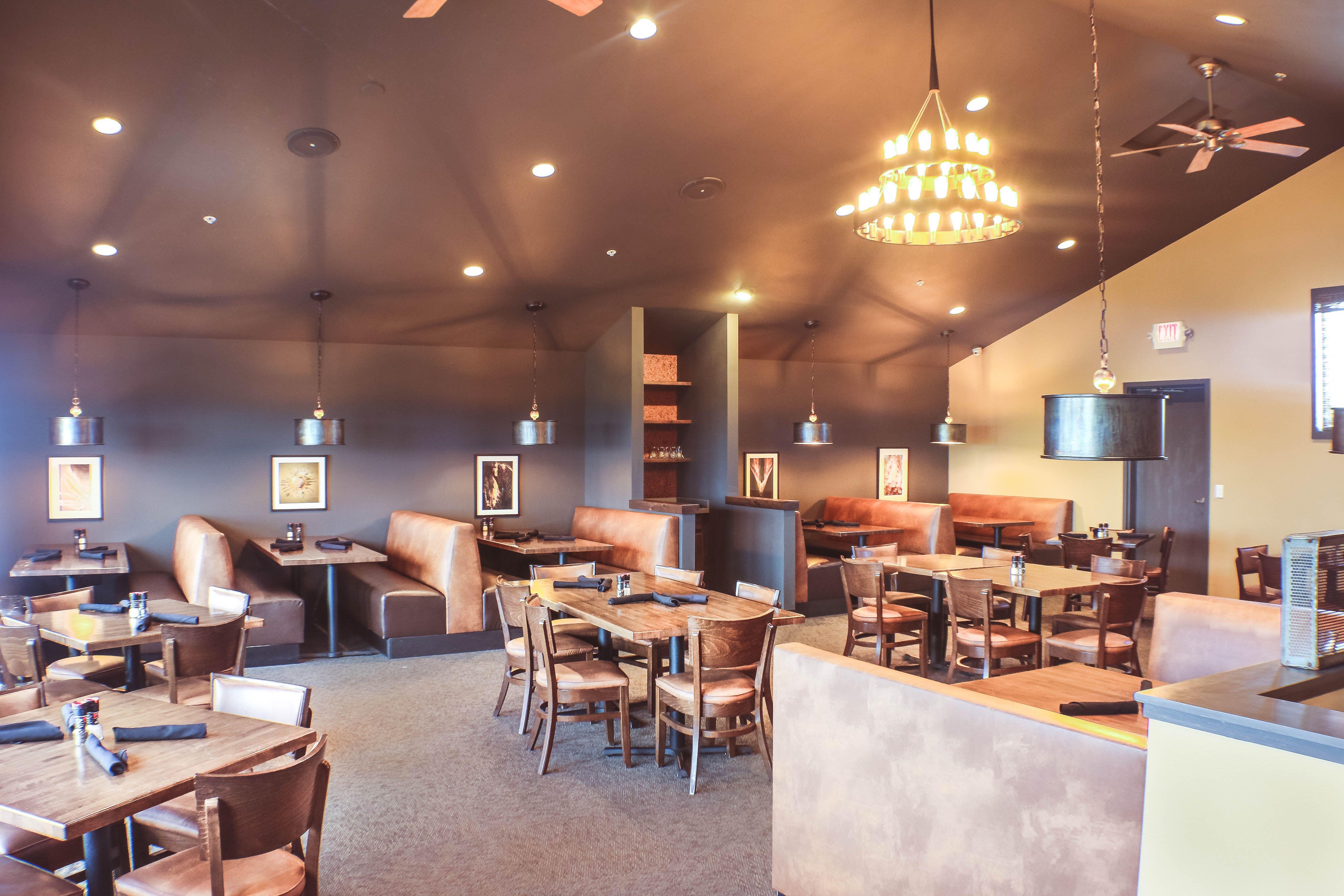 Prairie House restaurant #restaurant #chandelier