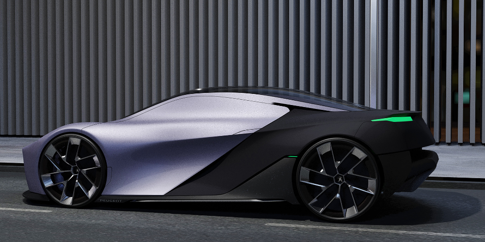 Peugeot Rcz 2020 On Behance Peugeot Automotive Design Car Model