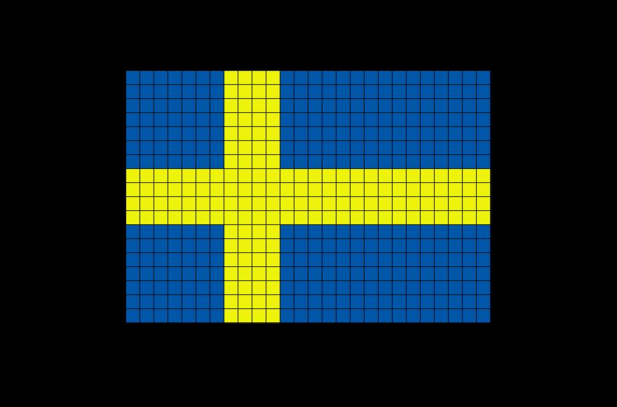 Pixel Art Drapeau Du Monde