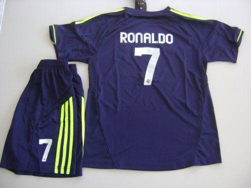 lowest price f74a0 2de30 Real Madrid 2012 - 2013 RONALDO Kids Away Jersey Shirt ...