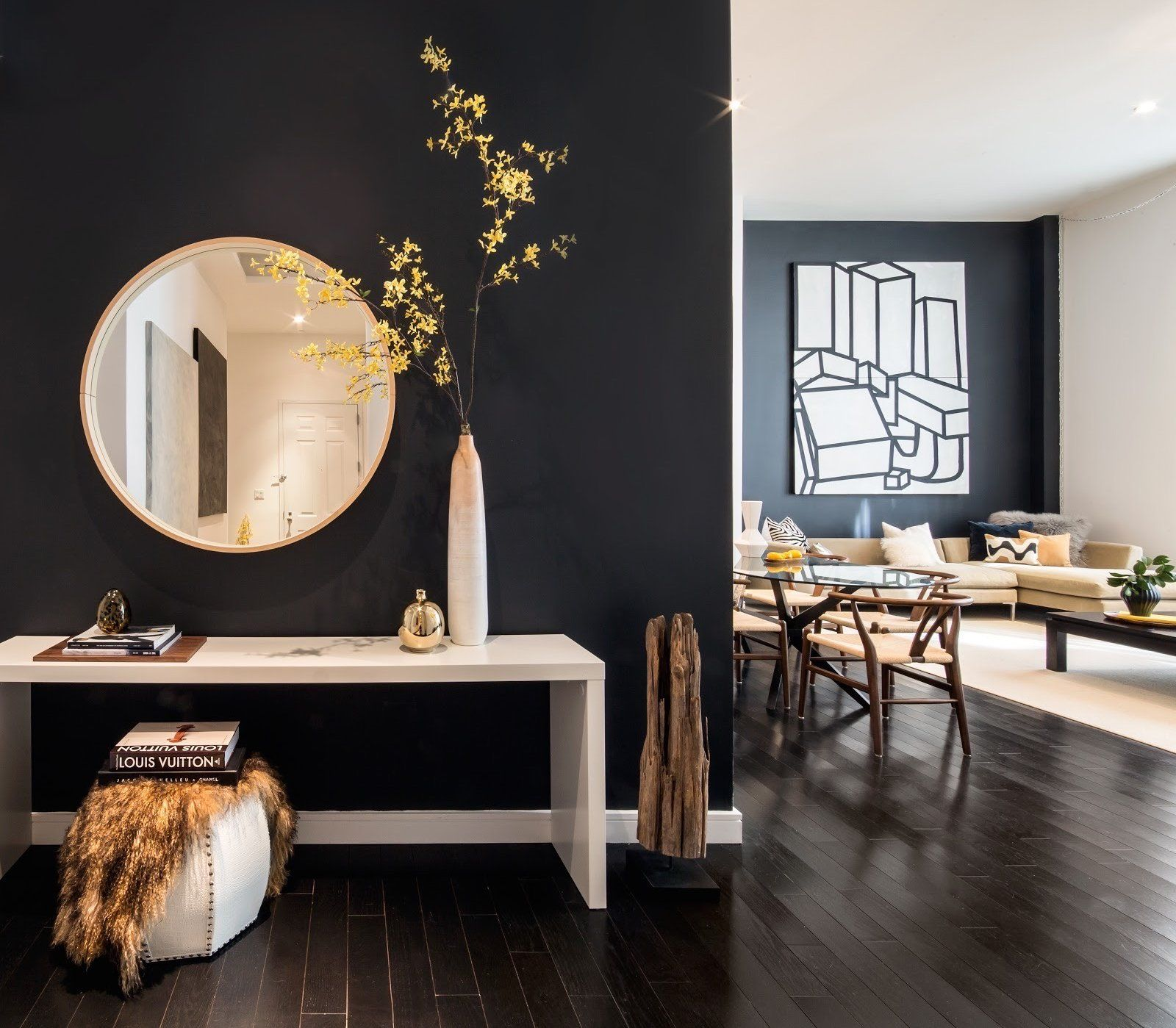 Small Nyc Apartment Living Room Ideas: Making An Entrance - The New York Times In 2019