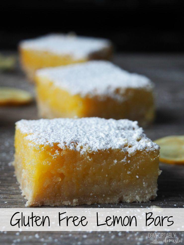 Gluten Free Lemon Bars Recipe Lemon Squares Recipe Lime Bar