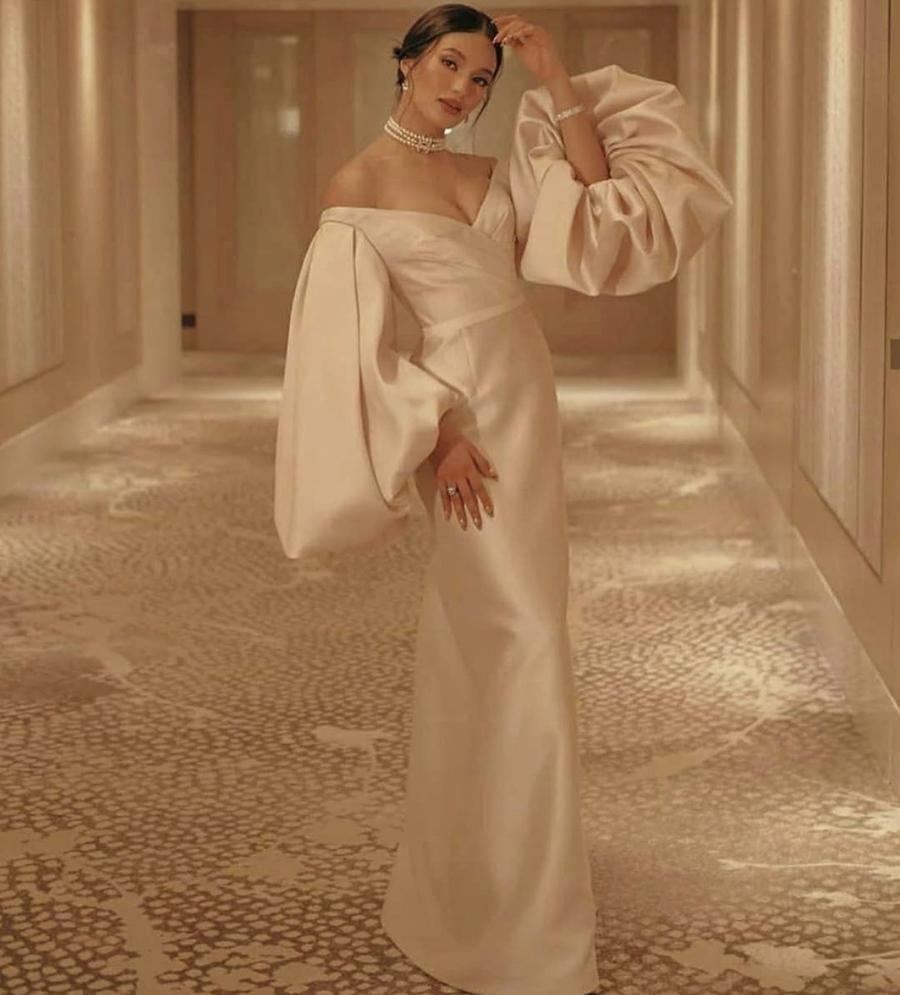Madamme Taffeta Dress