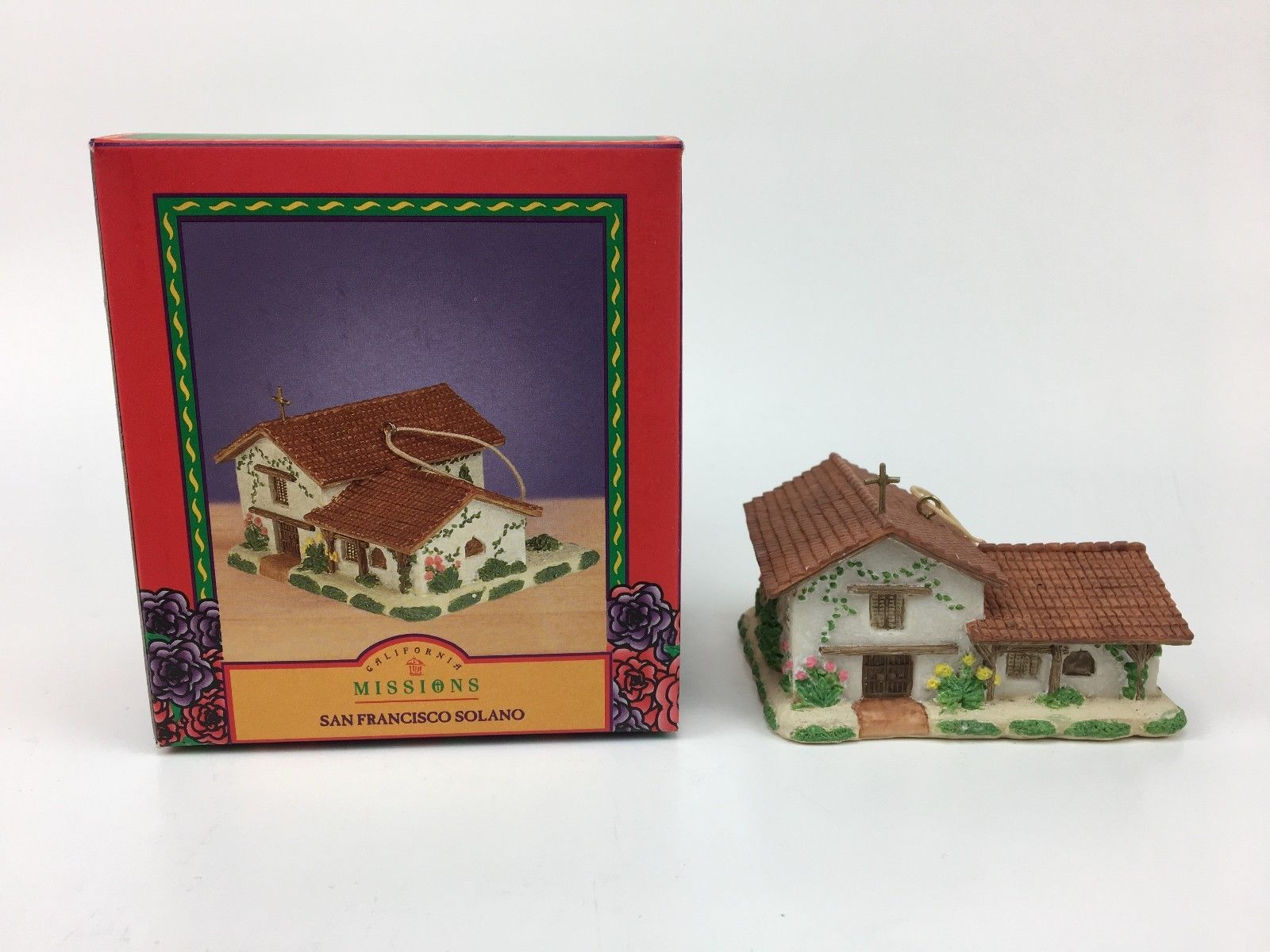 California Mission Ornament San Francisco Solano Mervyn's