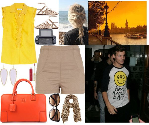 """""""day with Louis :*"""" by brunete14 ❤ liked on Polyvore"""