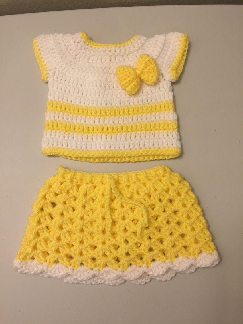 Yellow | crochet | Pinterest | Patrones, Tejidos bebe y Bebe